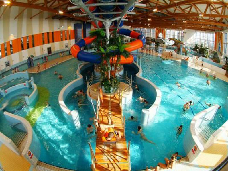 interior view of Krakow water park