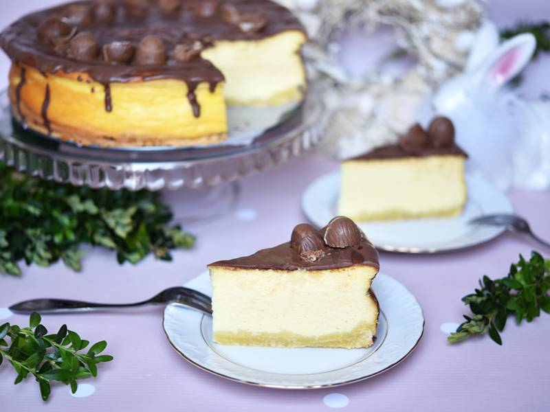 picture of polish cheescake