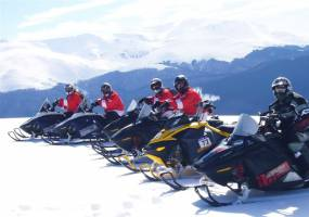 Snowmobiling – Stag Do Activities
